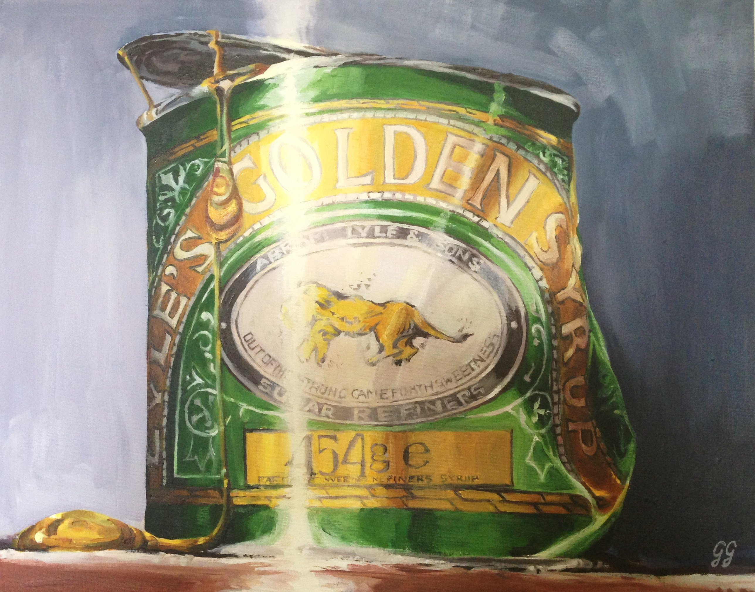golden syrup 2 - oil - 58x45cm - signed ltd edn of 40 giclee prints,  £85 ea